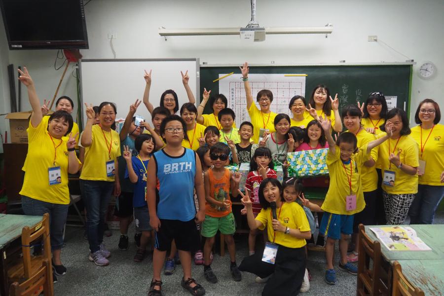 黃爺爺之家的龍岡夏令營─和學生一起看到成長的空間