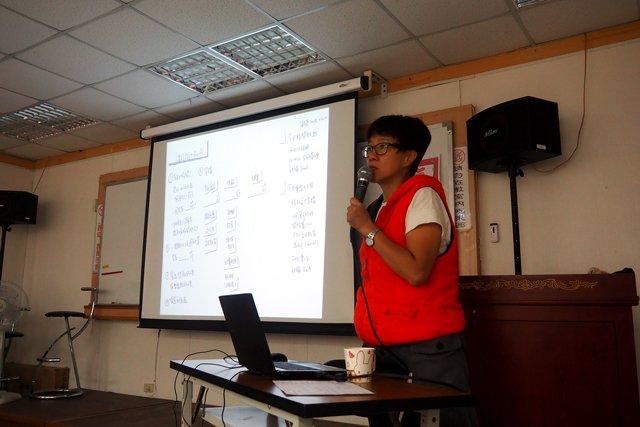 淑亞主任分享如何設計與安排「多元發展」與「體育」課程學習內容。